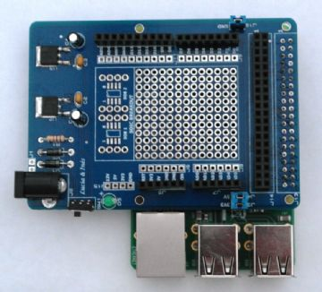 RKSB RP B+ GPIO Shield Base Interface Project Board for Raspberry PI & Arduino Atmel
